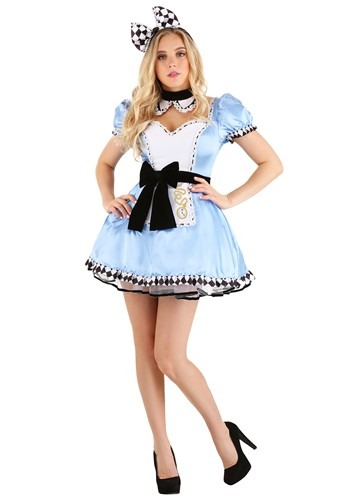 Click Here to buy Alluring Alice Womens Costume from HalloweenCostumes, CDN Funds & Shipping