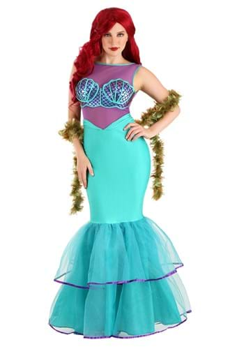 Click Here to buy Shell-a-brate Womens Mermaid Costume from HalloweenCostumes, CDN Funds & Shipping