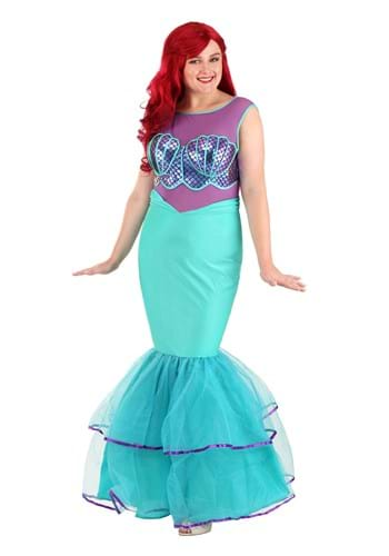 Plus SizeShell-a-brate  Womens Mermaid Costume