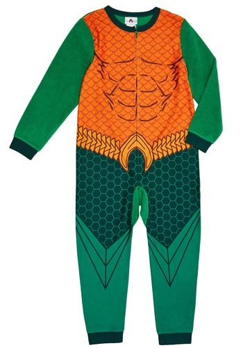 Click Here to buy Aquaman Union Suit For Kids from HalloweenCostumes, CDN Funds & Shipping