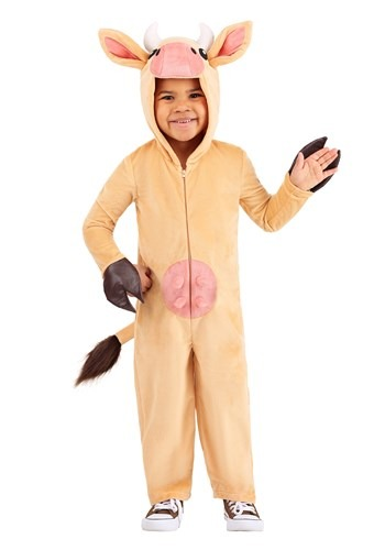 Toddler Brown Cow Costume