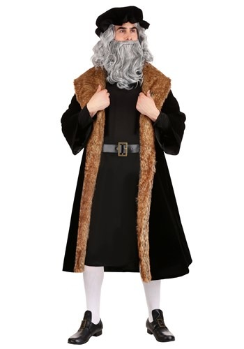 Click Here to buy Leonardo da Vinci  Mens Costume from HalloweenCostumes, CDN Funds & Shipping