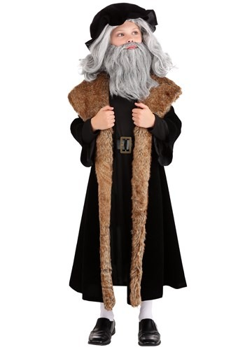 Click Here to buy Leonardo da Vinci Kids Costume from HalloweenCostumes, CDN Funds & Shipping