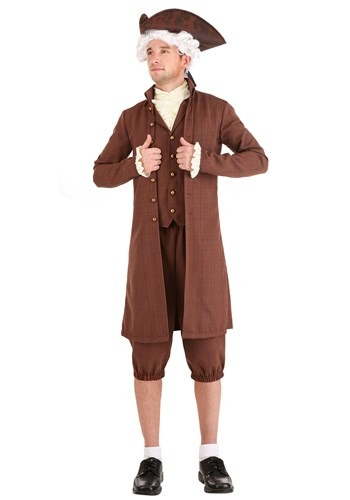 John Adams Mens Costume