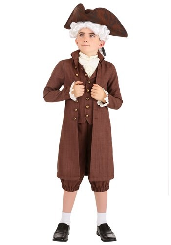 Click Here to buy John Adams Kids  Costume from HalloweenCostumes, CDN Funds & Shipping