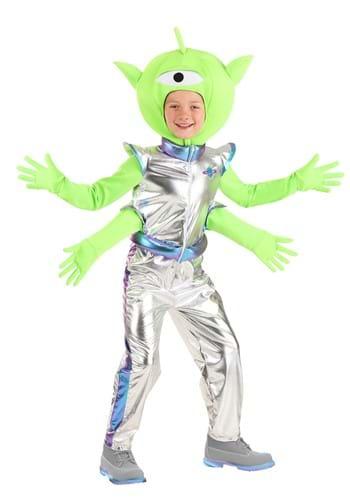 Friendly Kids Alien Costume