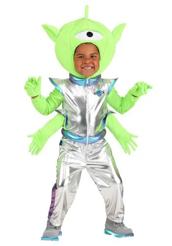 Click Here to buy Friendly Alien Toddler Costume from HalloweenCostumes, CDN Funds & Shipping