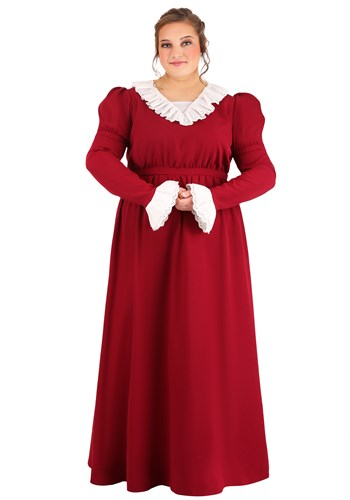 Womens Abigail Adams Plus Size Costume