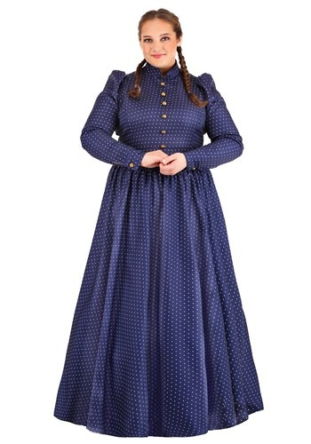 Womens Plus Size Laura Ingalls Wilder Costume