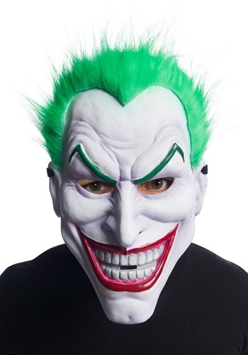 Click Here to buy Clown Joker Mask from HalloweenCostumes, CDN Funds & Shipping