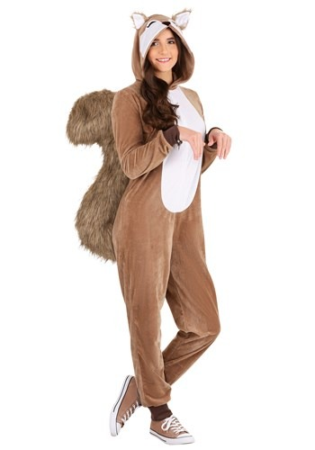 Scampering Squirrel Womens Costume