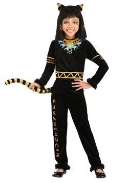 Girls Bastet Goddess Costume