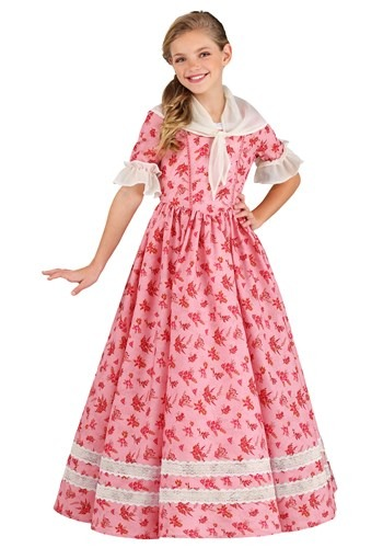 Lovely Southern Belle Kids Costume