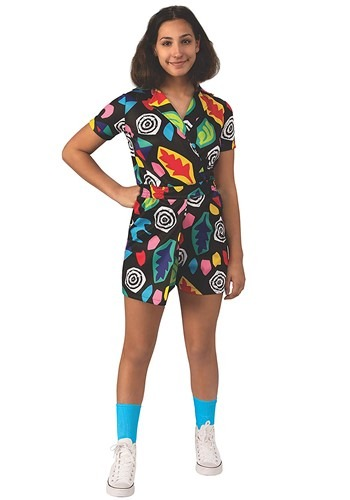 Click Here to buy Elevens Mall Dress Kids Costume Stranger Things from HalloweenCostumes, CDN Funds & Shipping