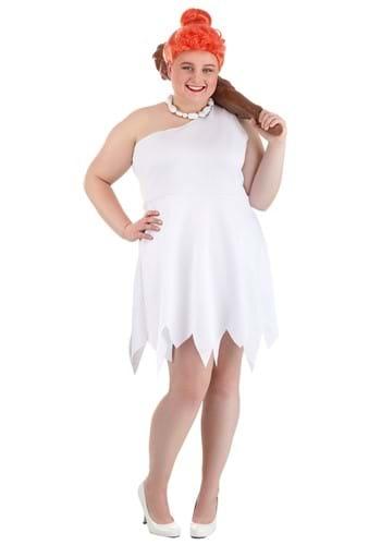 Plus Size Classic Flintstones Wilma Costume