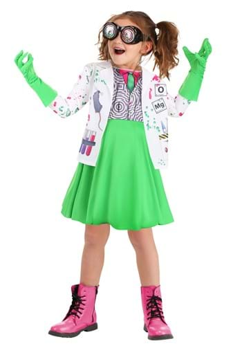 Mad Scientist Toddlers Costume