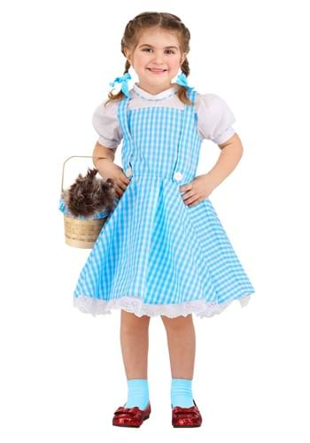Toddler's Classic Dorothy Wizard of Oz Costume1