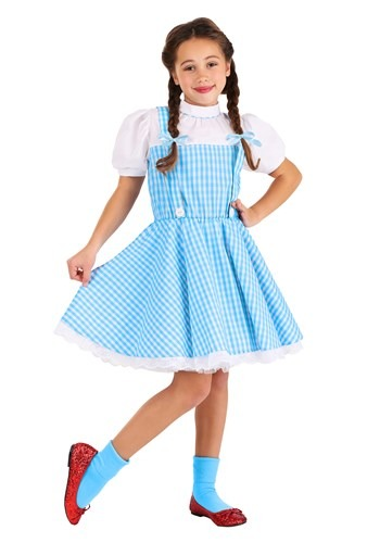 Click Here to buy Kids Classic Dorothy Wizard of Oz Costume from HalloweenCostumes, CDN Funds & Shipping