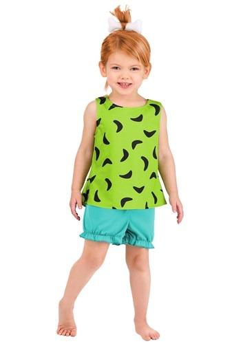 Kid's Classic Flintstones Pebbles Costume 1