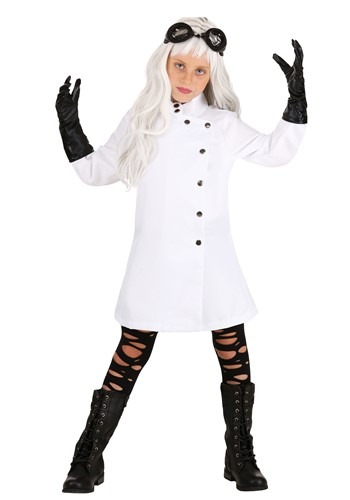 Mad Scientist Dress Costume for Girls