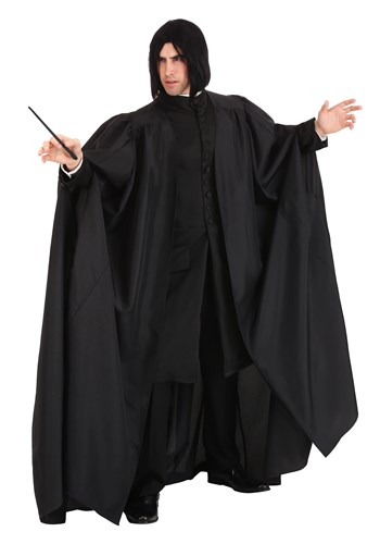Click Here to buy Deluxe Mens Harry Potter Snape Costume from HalloweenCostumes, CDN Funds & Shipping