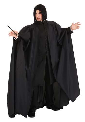 Click Here to buy Deluxe Harry Potter Plus Size Snape Costume from HalloweenCostumes, CDN Funds & Shipping