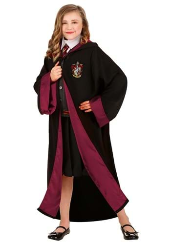 Click Here to buy Deluxe Harry Potter Kids Hermione Costume from HalloweenCostumes, CDN Funds & Shipping