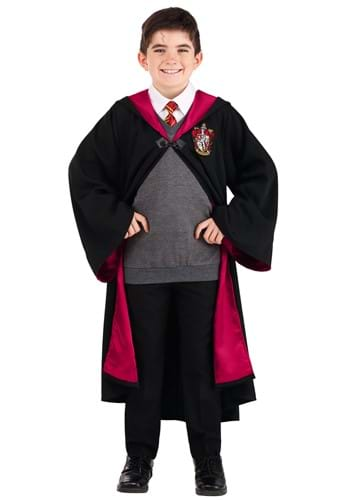Click Here to buy Deluxe Kids Harry Potter Costume from HalloweenCostumes, CDN Funds & Shipping