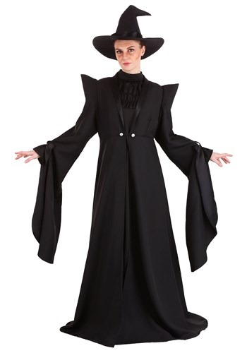 Deluxe Plus Size Harry Potter McGonagall Costume