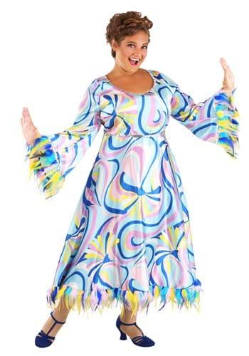 Plus Size 60s Mama Costume