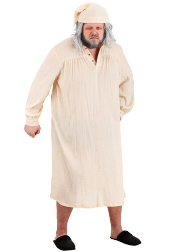 Mens Humbug Nightgown Plus Size Costume