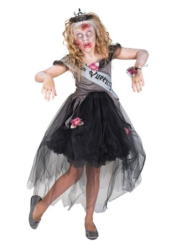 Zombie Girls Prom Queen Costume