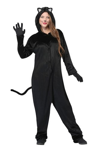 Plus Size Women's Black Cat Costume