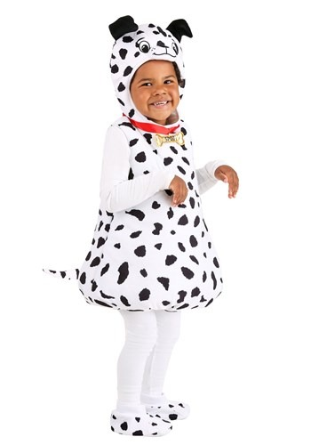 Toddlers Dotty Dalmatian Bubble Costume
