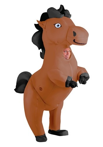Click Here to buy Inflatable Prancing Horse from HalloweenCostumes, CDN Funds & Shipping