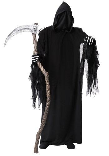 Adult's Plus Size Dark Reaper Costume Main