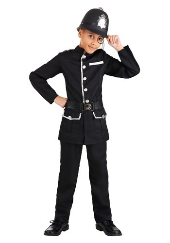 British Bobby Kids Costume