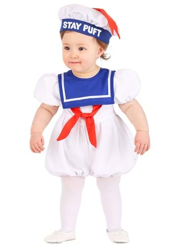 Click Here to buy Ghostbusters Stay Puft Baby Bubble Costume from HalloweenCostumes, CDN Funds & Shipping