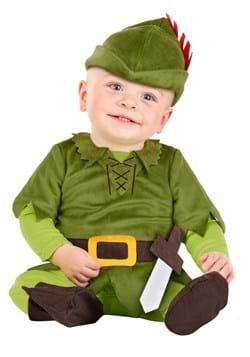 Infant Peter Pan Costume Main