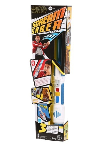 Click Here to buy Star Wars Scream Saber Lightsaber With Sound Effects from HalloweenCostumes, CDN Funds & Shipping