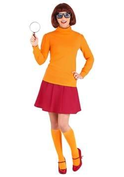 Plus Size Classic Scooby Doo Velma Costume Update 1