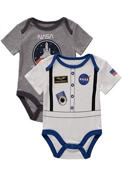 NASA Infant 2 Pack Bodysuit Onesie