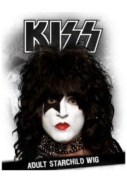 KISS Starchild Wig