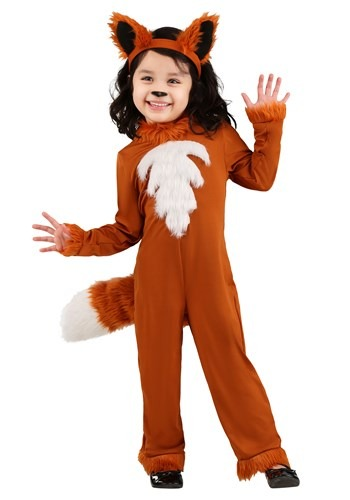 Click Here to buy Toddler Sly Fox Costume from HalloweenCostumes, CDN Funds & Shipping