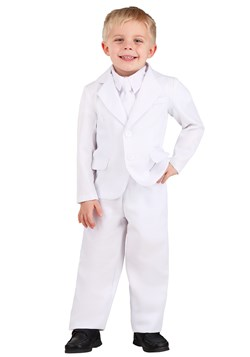Toddler's White Suit Costume