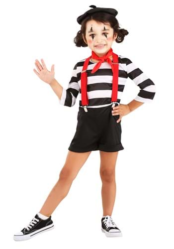 Mime Costume for Toddlers