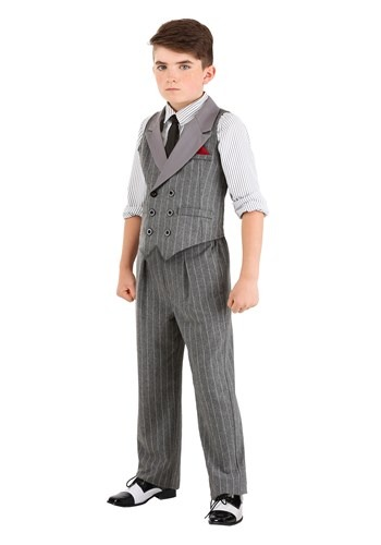 Kids Ruthless Gangster Costume