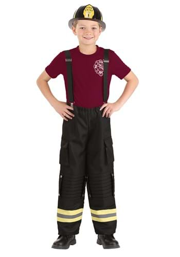 Fire Captain Kids Costume