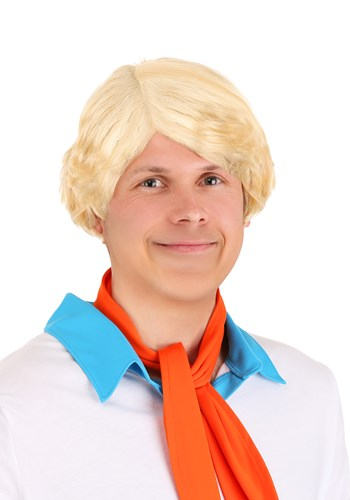 Scooby Doo Fred Wig for Men