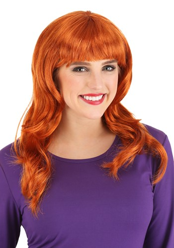Click Here to buy Scooby Doo Daphne Womens Wig from HalloweenCostumes, CDN Funds & Shipping